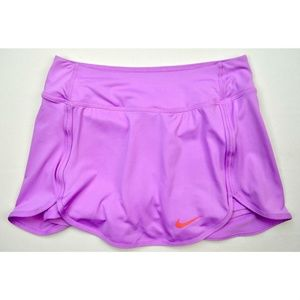 Nike Womens traight Court Tennis Skirt Lavender